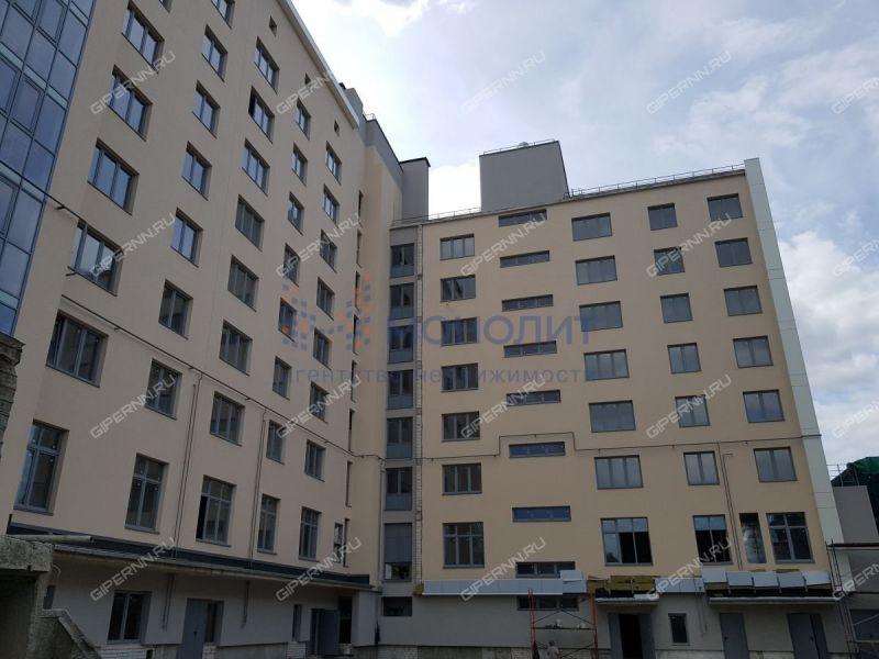 трёхкомнатная квартира в новостройке на Обозной улице