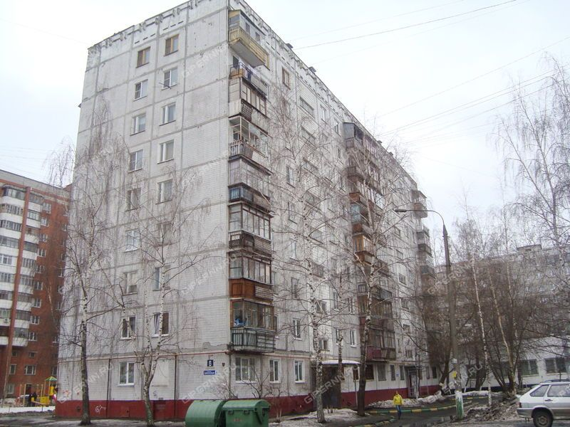 трёхкомнатная квартира на улице Политбойцов дом 6