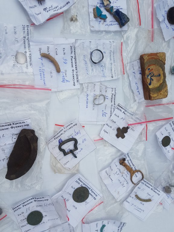 Первый в России фуникулер раскопали в Нижегородском кремле