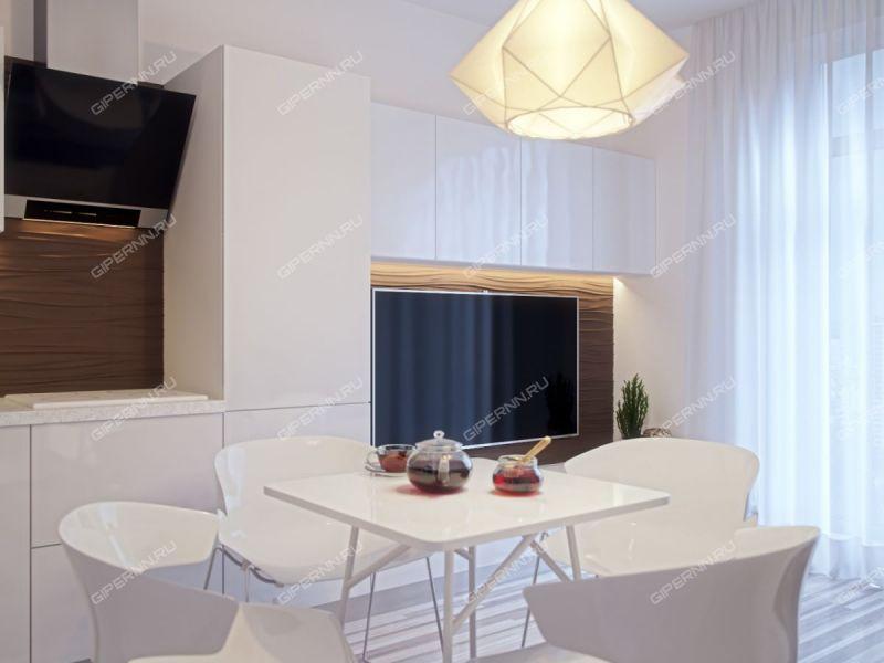 двухкомнатная квартира на улице Зелёная дом 16 город Кстово