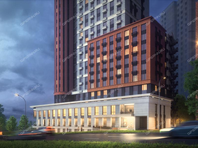 однокомнатная квартира в новостройке на в границах улиц Родионова, Северо-Восточная