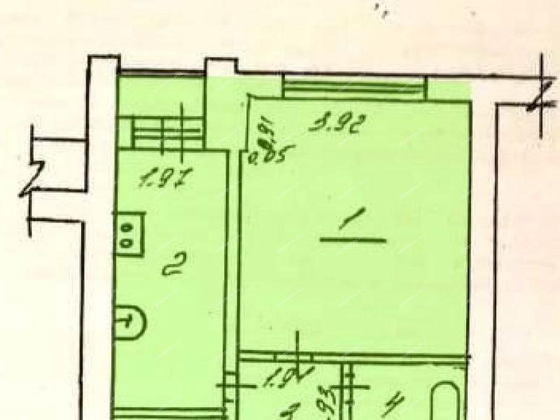 однокомнатная квартира на улице Юности дом 8 город Саров