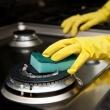 Легкий способ очистить газовую плиту от гари и жира