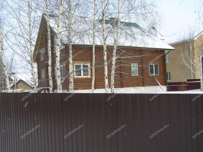 дом на улице Яблоневая деревня Афонино
