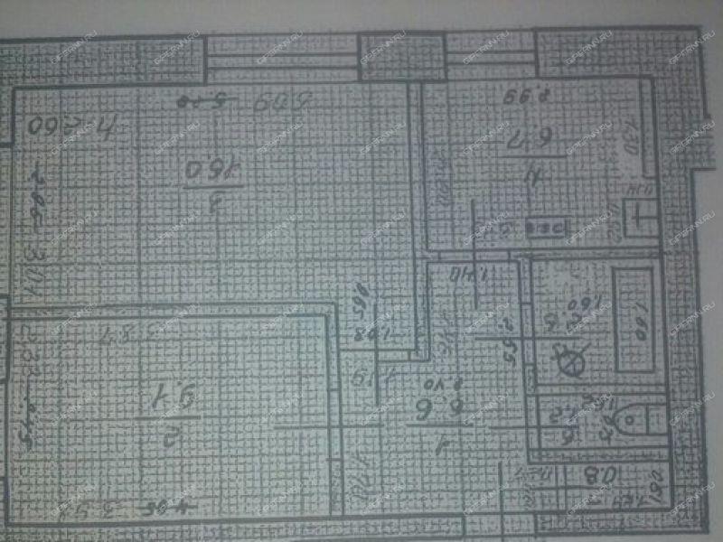 двухкомнатная квартира на улице Александра Люкина дом 94 город Княгинино