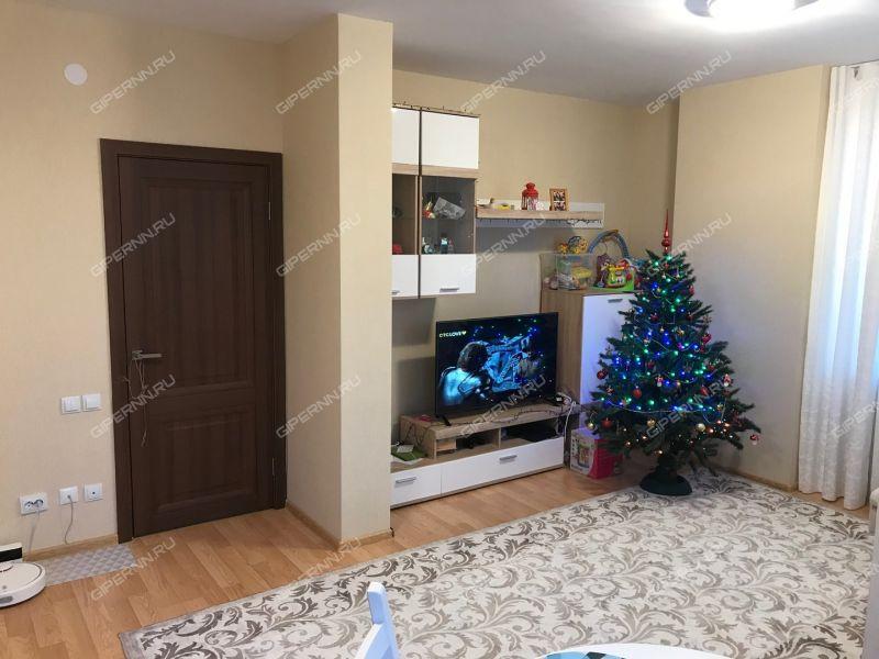 двухкомнатная квартира на улице Черкесская дом 3 деревня Анкудиновка