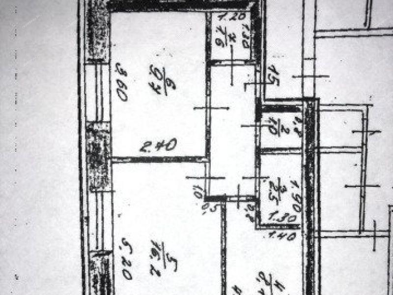 двухкомнатная квартира на  село Вад