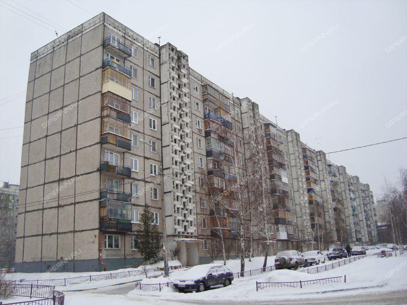 двухкомнатная квартира на улице Пермякова дом 34