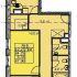 трёхкомнатная квартира в новостройке на в границах улиц Страж Революции, Гвардейцев, 50-ти летия Победы, Евгения Никонова, дом 18