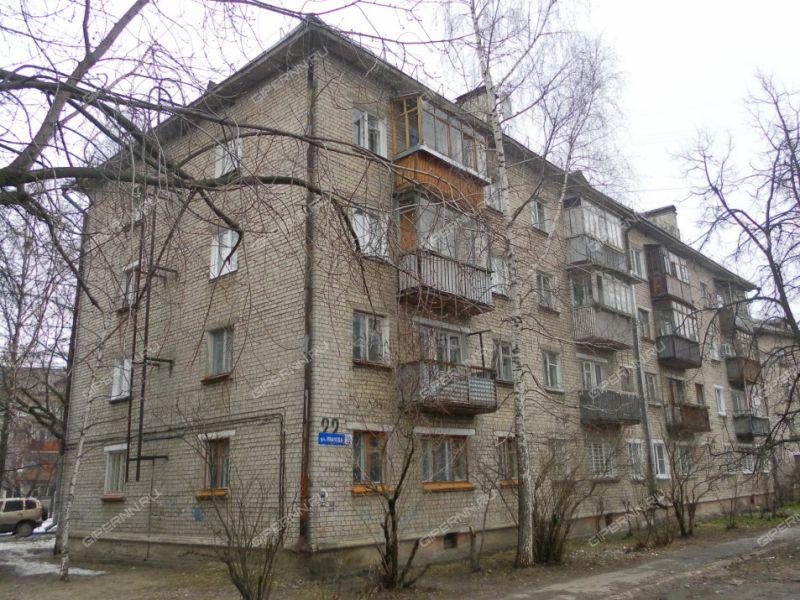 квартира-студия на улице Василия Иванова дом 22
